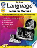 Language Learning Stations, Grades 6 - 8