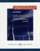 Calculus for Business  Economics and the Social and Life Sciences  Brief Edition