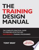 The Training Design Manual
