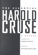 The Essential Harold Cruse