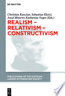 Realism Relativism Constructivism