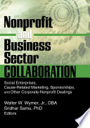Nonprofit and Business Sector Collaboration