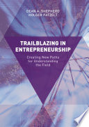 Trailblazing In Entrepreneurship