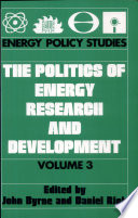 The Politics of Energy Research and Development