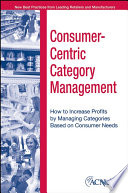 Consumer Centric Category Management
