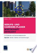Gabler   MLP Berufs- und Karriere-Planer Wirtschaft 2010   2011