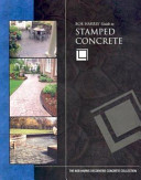 Bob Harris  Guide to Stamped Concrete