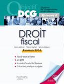 Objectif Dcg Droit Fiscal 2013 2014