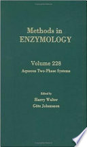 Aqueous Two Phase Systems book