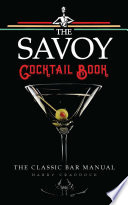 Book The Savoy Cocktail Book
