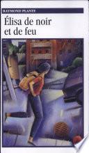 illustration du livre Élisa de noir et de feu