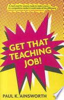 get-that-teaching-job