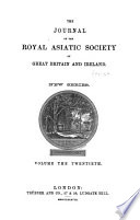 Journal Of The Royal Asiatic Society Of Great Britain And Ireland book