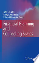 Financial Planning And Counseling Scales