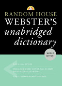 Random House Webster s Unabridged Dictionary