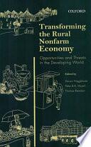 Transforming The Rural Non-Farm Economy