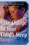 Take Charge Of Your Child S Sleep