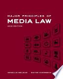 Major Principles of Media Law  2012 Edition