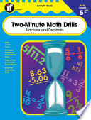 Two Minute Math Drills Grades 5 8 book