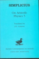 On Aristotle Physics 5
