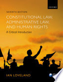 Constitutional Law  Administrative Law  and Human Rights