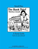 The Book Thief Reading Program Reproducible Pages In Chapter By Chapter Format Provide