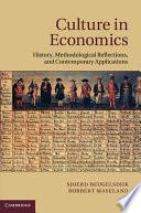 Culture in Economics