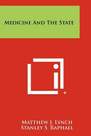 Medicine and the State