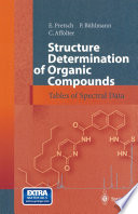 Structure Determination Of Organic Compounds book