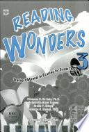Reading Wonders 3 Teacher s Manual1st Ed  2006
