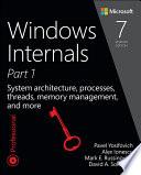 Windows Internals  Part 1