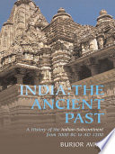 India The Ancient Past