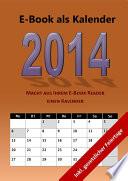 E Book Als Kalender 2014