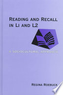 Reading and Recall in L1 and L2