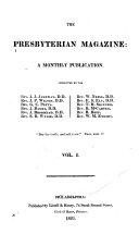 download ebook the presbyterian magazine pdf epub