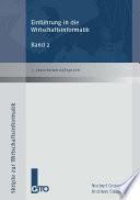 Einf  hrung in die Wirtschaftsinformatik  Band 2  3    berarbeitete Auflage 2012