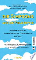 Die Simpsons Und Die Philosophie book