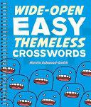 Wide Open Easy Themeless Crosswords