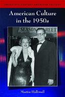 American Culture in the 1950s Book