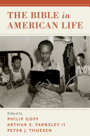 The Bible in American Life Book