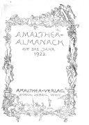 Amalthea Almanach