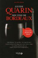 illustration Guide Quarin des vins de Bordeaux