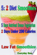 5  2 Diet Smoothies