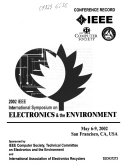 Proceedings of the     IEEE International Symposium on Electronics and the Environment