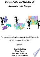 Career Paths And Mobility Of Researchers In Europe book