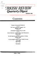 Turkish Review Quarterly Digest