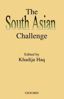 The South Asian Challenge book