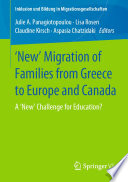 New Migration Of Families From Greece To Europe And Canada