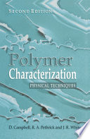 Polymer Characterization book