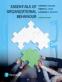 Essentials of Organizational Behaviour  First Canadian Edition